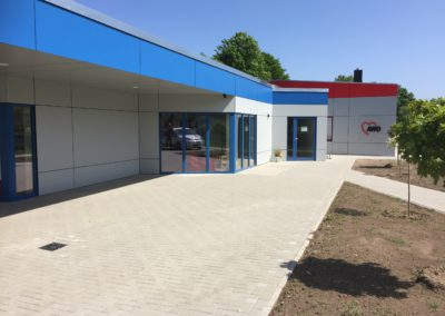 Neubau Familienzentrum / Sanierung Bürgertreff